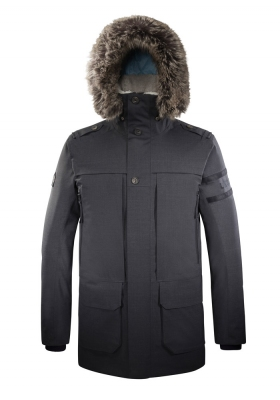 Parka Homme SOFT Wool gris